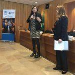 Perugina da 20 anni nella Ue: «Amo questo ambiente internazionale ma mi manca l'Umbria»